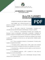 LEI 1041 - Alvará Provisório