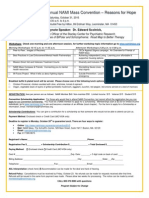 2015 Convention Registration Form