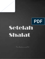'Dzikir Setelah Shalat