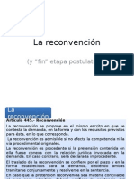 Der.proc.Civil i - Reconvencion y Fin