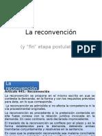 Der.proc.Civil i - Reconvencion y Fin