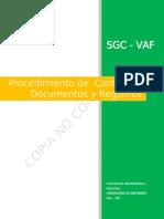 Procedimiento Control de Documentos y Registros v.03