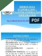 HIDROLOGIA:EVAPOTRANSPIRACION