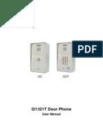 I21T User Manual_ V1.1