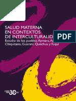 Salud Materna e Interculturalidad