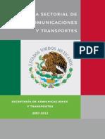 Programa Sectorial Comunicaciones y Transportes_2007-2012