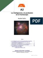 A2-La Inteligencia y La Profesión en El Horóscopo-Psicología Astrológica