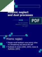 Mnemic Neglect