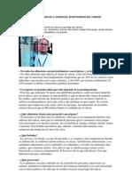 Cancer y Dieta - Entrevista Dr. Carlos A. Gonzales