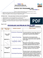 Ias Pre Psychology 20 Mock Test Prog Dec