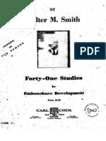 Walter Smith - 41 Estudios.pdf