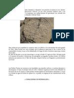 Algunos Petroglifos Representan Chamanes o Danzantes Con Penachos de Pluma en Sus Cabezas
