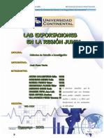 Las Exportaciones en La Region Junin - Monografia (1)