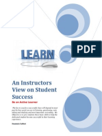 An Instructors View on Student Success