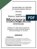 Areniscas