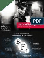 BFI Publishing Catalogue 2014