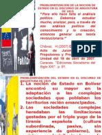 La Noción de Estado en El Discurso de Angostura Prf. Gerson Gómez Acosta