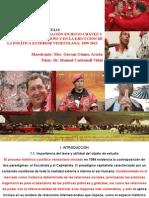 El Concepto de Integración en Hugo Chávez Prf. Gerson Gómez Acosta
