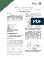 Pré Relatório 8 de Instalações Elétricas UnB
