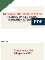 Braintrust Event 2015