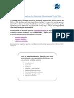 Materiales Educativos Programa 2Mp - Orientaciones Curso Virtual