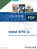 Radar Secundário Rsm970