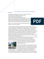 Exercise training in Parkinson's disease.docx