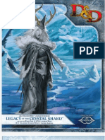 Legacy of the Crystal Shard DDEncounters Adventure
