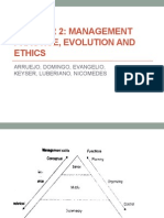 Chapter 2 Management Practice, Evolution and Ethics