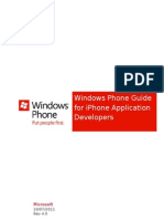 Windows Phone Guide for Ios