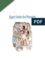 Egypt Under the Pharaohs Ancient Egypt Dr-Mahmoud Elhosary
