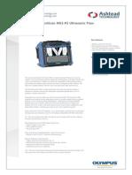 Olympus Omniscan Mx2 p2 Ultrasonic Flaw Detector