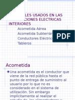 Clase 4 Conductores en Instalaciones Interiores