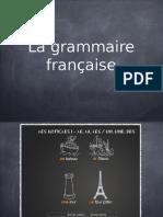 La Grammaire Francaise