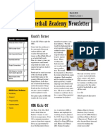 GBA Newsletter March 2010