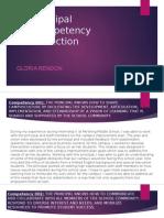 principal competency reflection