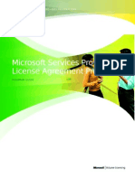Services Provider License Agreement Program Guide 2011