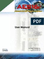 AES16eUserManual