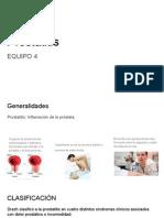 Prostatitis Aguda y Crónica