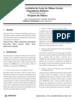 Plínio Andrade - Simulação Filtros no MatLab