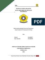Bismillah, Proposal Kerja Praktek Pertamina 2014