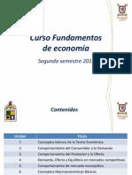 Unidad 1 Fundamentos de Economía 2015