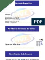 Auditoria BD