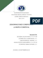 DENOMINACIONES COMERCIALES