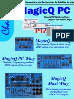 MagicQ PC Wing Datasheet