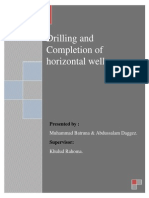 2010 Drilling Completion of Horizontal Well Report