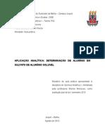 relatório 5 - gravimetria