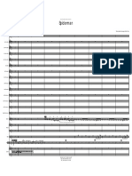 Spiderman - Score - 11 Pages