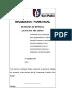 Ejercicios Resueltos - Economia de Empresa - 1