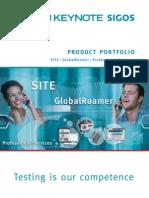 Keynote SIGOS Product Portfolio v1